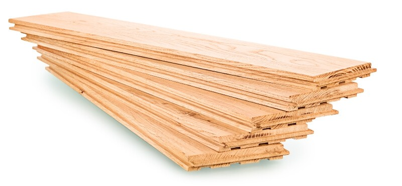 Types of parquet: Solid planks